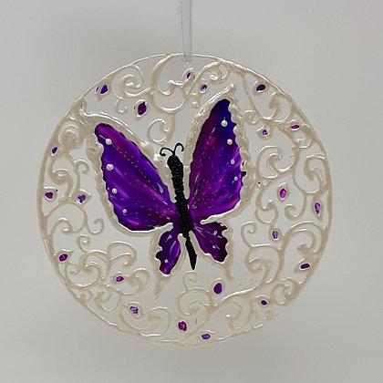 Large suncatcher: Butterfly