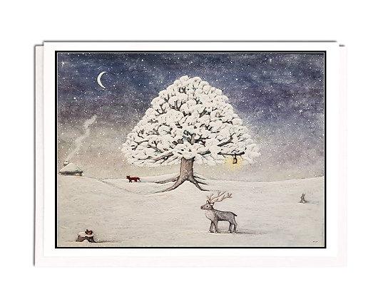 Christmas card: Winter Wonderland