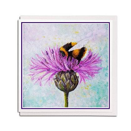 Greetings card: Bee Tough
