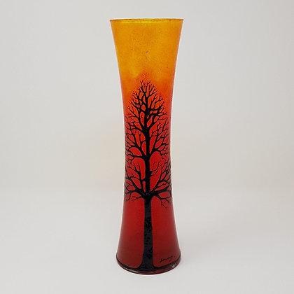 Flared vase: Orange Tree