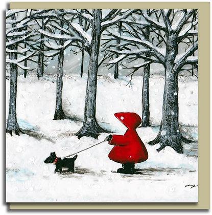 Eco Greetings card: Red Hood ~ Best Friends
