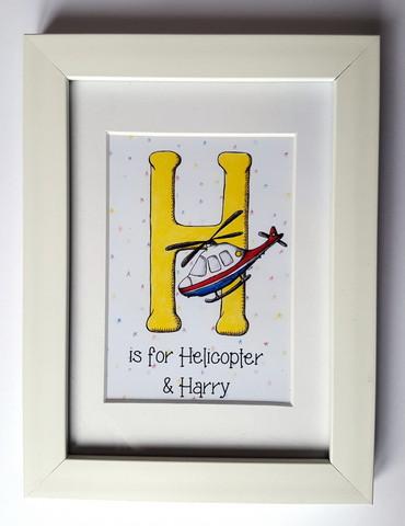 Alphabet print: L is for...