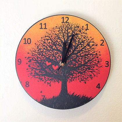 Clock: Two Hearts