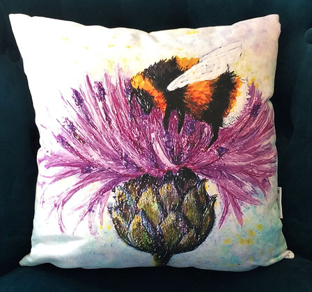 Cushion: Bee Tough
