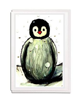 Greetings card: Baby Penguin