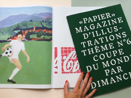 Papier Magazine Coupe du Monde