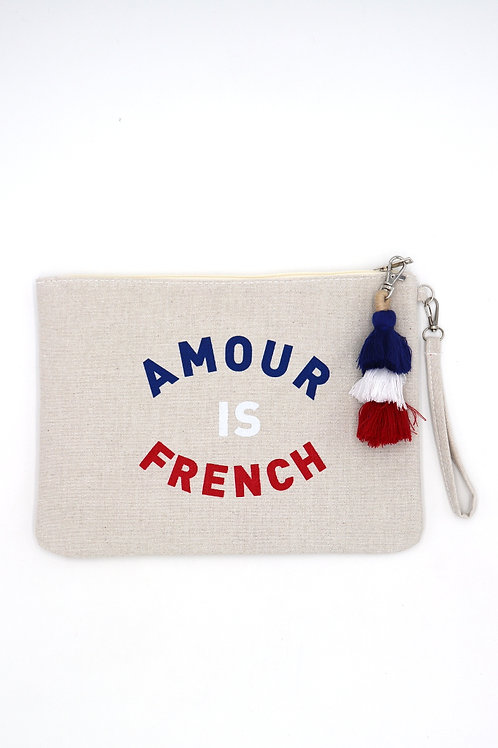 Pochette - Amour is French