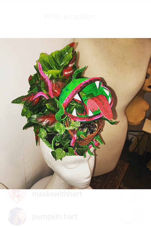LITTLE SHOP OF HORRORS Inspired Headpiece