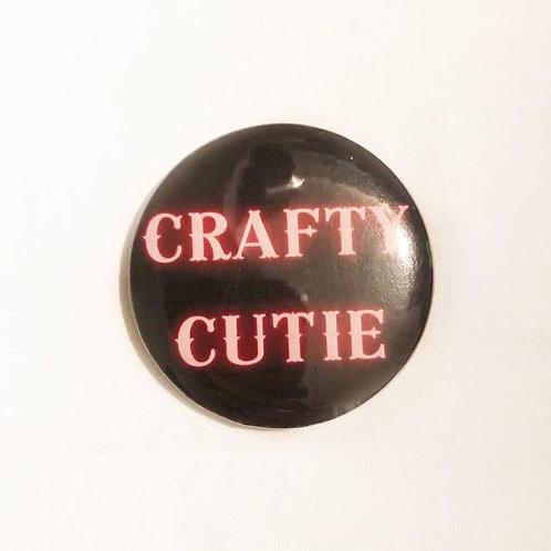 CRAFTY CUTIE - Badge Ass Badge