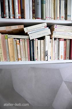 Bibliothèque 3,6m x 2,6m