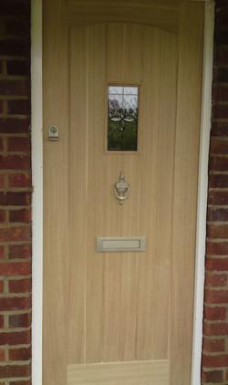 Front Doors, External Carpentry