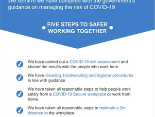 Kitchens Northampton Staying COVID-19 Secure in 2020