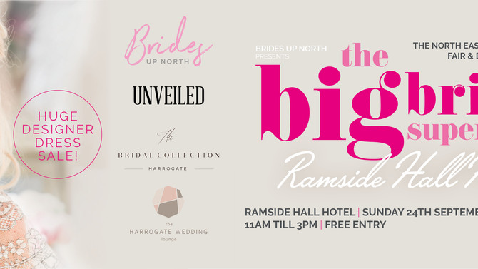 Luxury Bridal Show - Ramside Hall Hotel