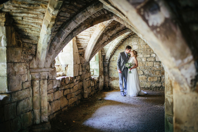 MATT & ROSIE - FINCHALE PRIORY, DURHAM - NORTH EAST WEDDING PHOTOGRAPHY