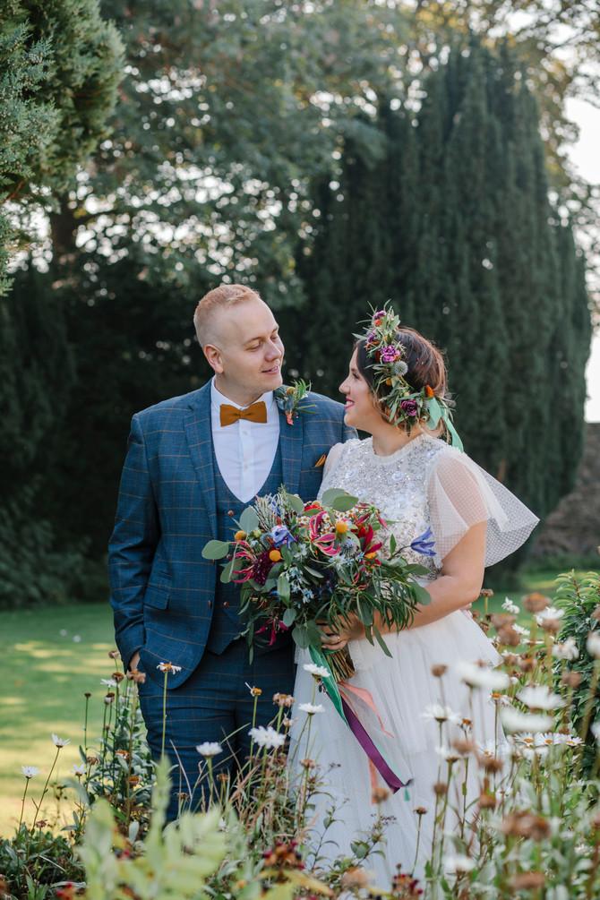 Bleu & Lewis - Hallgarth Manor - North East wedding photography
