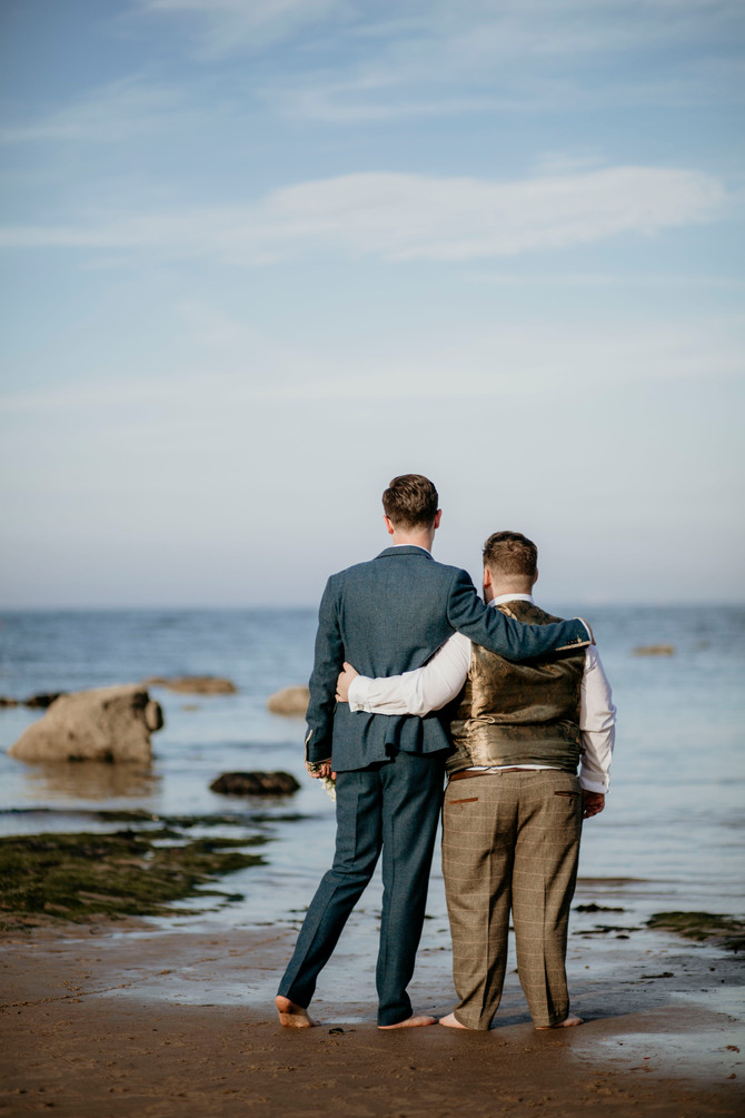 John & Tommy - Tynemouth - North East Photography