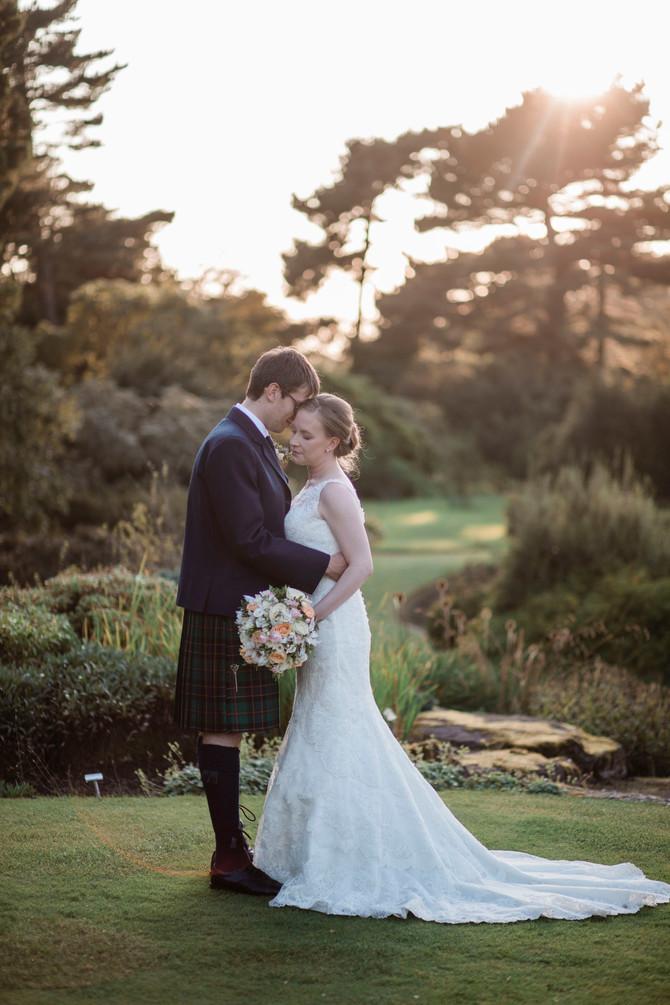 Phoebe & Lewis - Edinburgh Botanical Gardens - North East Wedding Photography