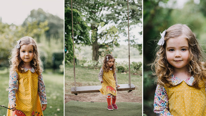 Emilia portrait session - Crook Hall - North East Photography