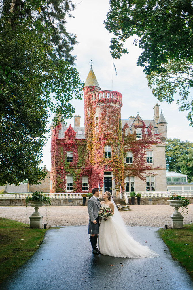 Molly & Jamie - Carlowrie Castle - North East Wedding Photography