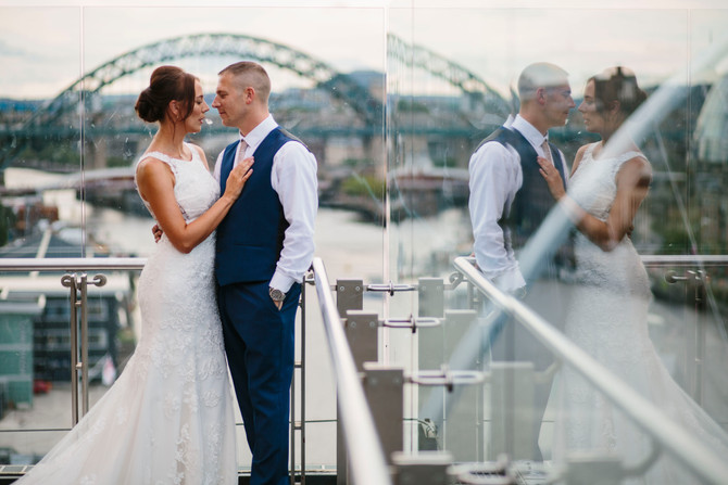 Lee & Danielle - Baltic Art Centre - North East Wedding Photography