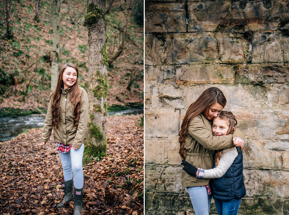 Family portrait session northumberland north east photography