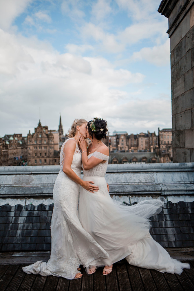 Emma & Josie - Balmoral Hotel, Edinburgh  - North East Photography