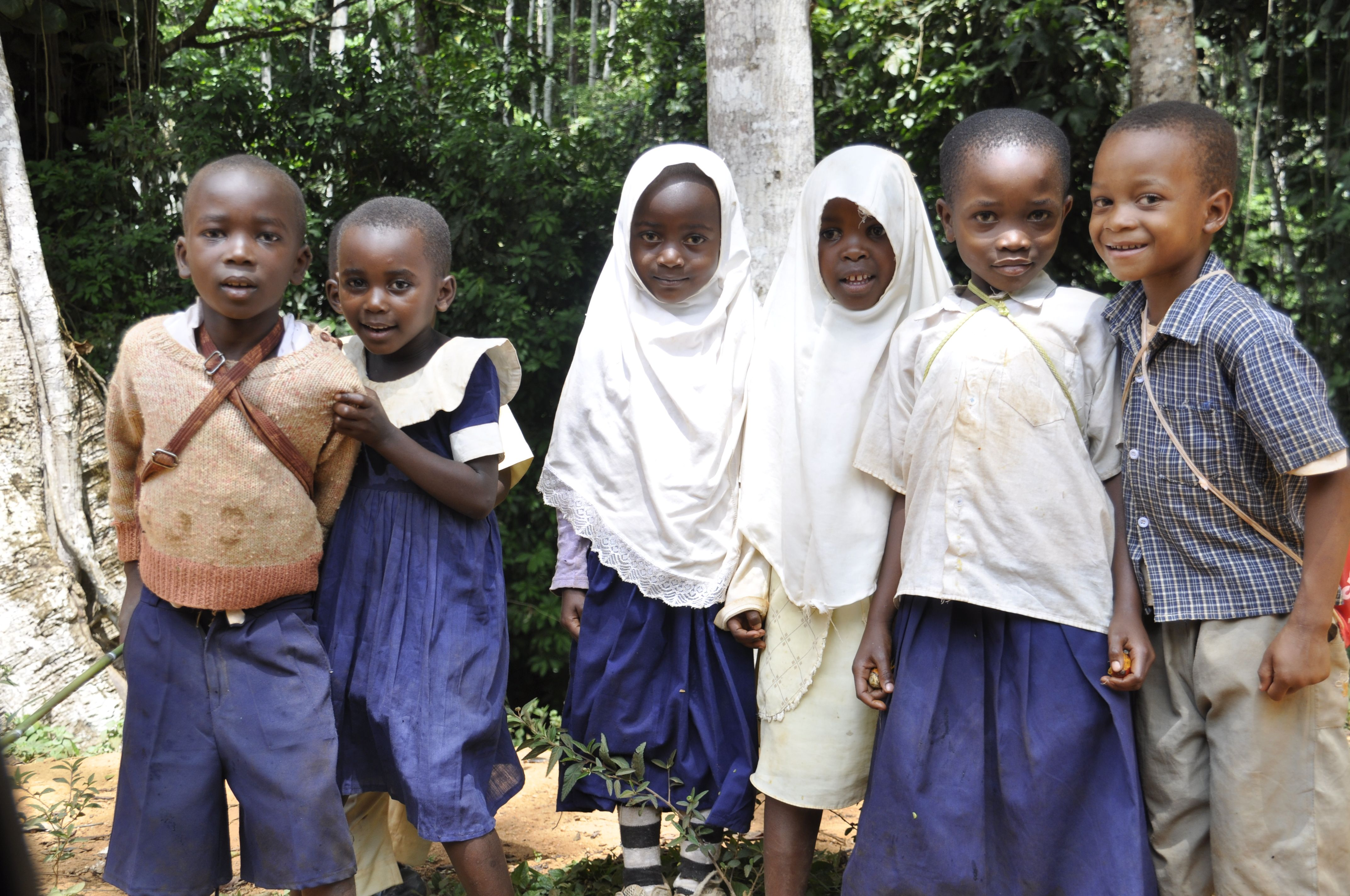 Tanzanian School Children