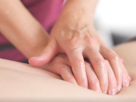 Reprise des massages !
