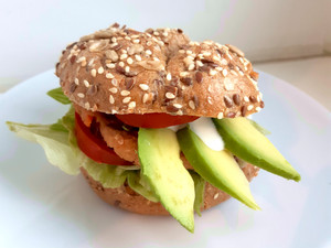 Leckere vegane Burger