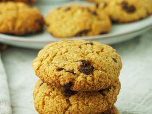 Vegane Schoko-Erdnuss Cookies