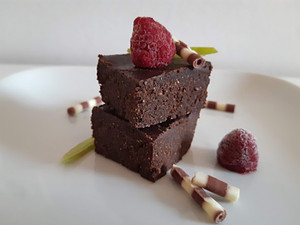 Raw Schoko-Brownies