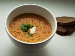 Kartoffel-Linsen Eintopf mit Curry