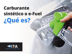 Carburante sintético o e-Fuel ¿Qué es?