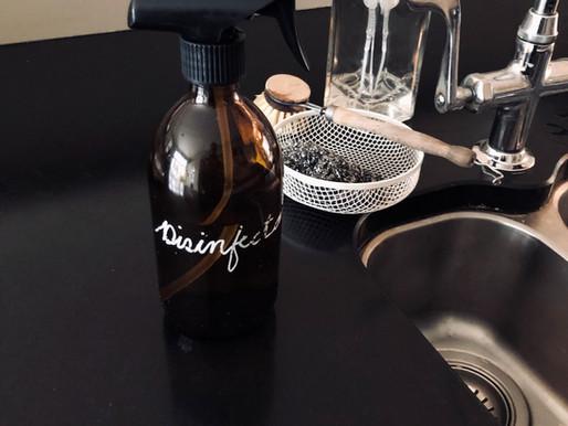 Homemade Antibacterial Spray