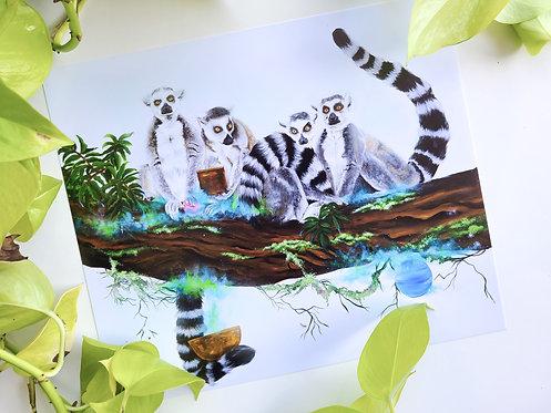 Lemures Print