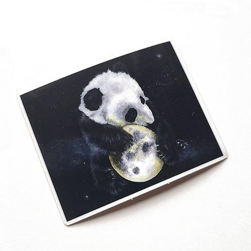 Just a Phase Panda Sticker