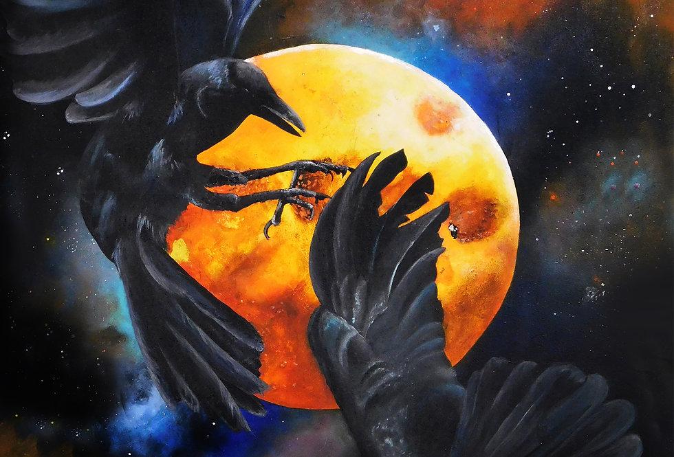 Ravens of Odin Print