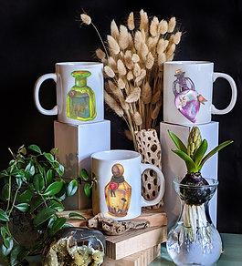 Ceramic Zodiac Mugs      Earth Elements
