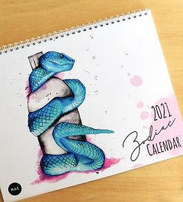 2021 Zodiac Calendar
