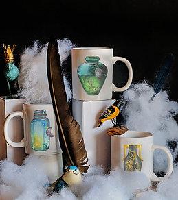 Ceramic Zodiac Mugs           Air Elements