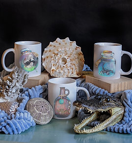 Ceramic Zodiac Mugs Water Elements