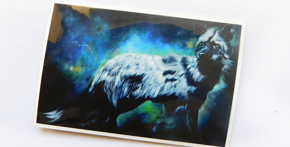Vulpecula Sticker