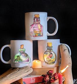 Ceramic Zodiac Mugs        Fire Elements