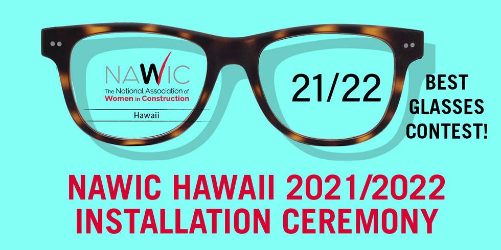 NAWIC Hawaii 2021 - 2022 Board Installation Ceremony