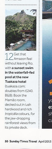 Brazil Guide - Sunday Times Travel