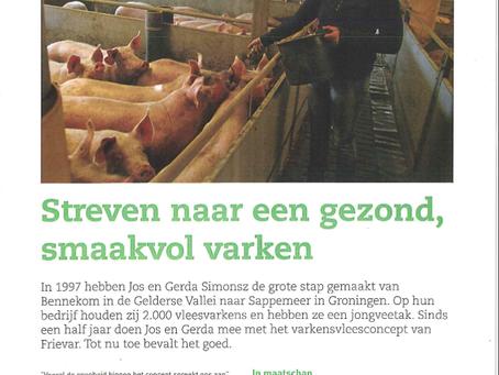 Streven naar een gezond, smaakvol varken