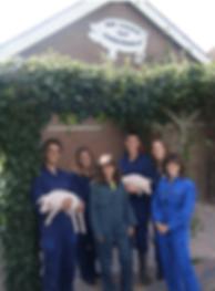Echtenrpolderhoeve familie van Sambeek