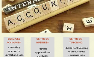 accountant , bookkeeper, accounts service , small business , vat , balance sheet , income statement