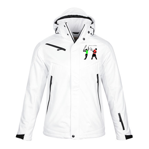 Tennis2Be - White Men's Soft Jacket
