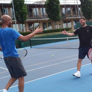 Tennis, Teamship & Charity ! It must be the 4th Annual Craic Cup Tennis Tournament !